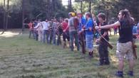 Bellissimo roving e grande organizzazione da parte della 04BUBU. Oggi la 04MEZZ aveva tutti gli arcieri impegnati. Gran parte in questo roving ed altri in