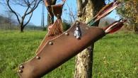 Un anteprima degli accessori costruiti dal nostro Inventore Alessandro. Presto una pagina dedicata alle sue invenzioni! Cerca Frecce! Pulisci frecce! Faretre in cuoio! e… non