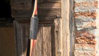 Arco realizzato da Donato Milesi perIvan Marescalchi Data fine costruzione:06/2017 Tipo d'arco:Semi Longbow (tipo originale, metodo J.M.Coche) Modello:Ashram Lunghezza:70″ (pollici) Forza dell'arco: 38# (libre) per